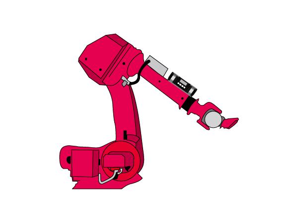産業アーム等、機械の角度の管理などに